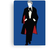 The Third Doctor - Doctor Who Canvas Print