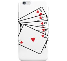 Royal Flush iPhone Case/Skin
