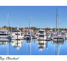 """""""Raby Reflections"""", Raby Bay, Cleveland, Australia by Karen Duffy"""