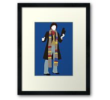 The Fourth Doctor - Doctor Who Framed Print