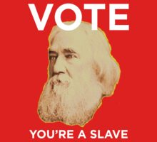 Lysander Spooner Voting is for Slaves Kids Clothes