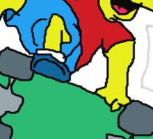 Bork Spimbo II: Bork Spimboer Sticker