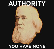 Lysander Spooner No Authority One Piece - Long Sleeve