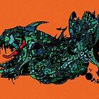 Neo London Mega Shark Version by Frank Louis Allen by Frank Allen