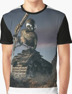 War Tank Robot Graphic T-Shirt