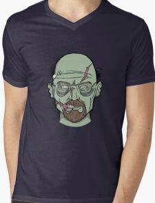 Walker White Mens V-Neck T-Shirt