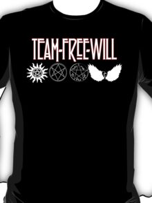 Team Free Will V2 T-Shirt