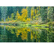 Wenatchee River in Tumwater Canyon Photographic Print