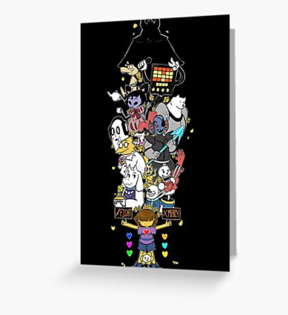Undertale - FIGHT or MERCY ULTIMATE - HIGH QUALITY Greeting Card