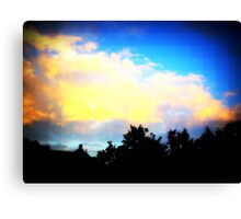 Digital Sky Canvas Print