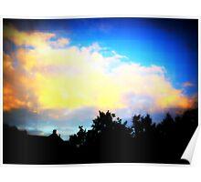 Digital Sky Poster