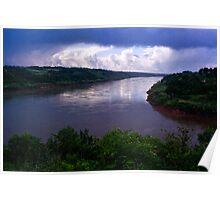 Iguazu River Poster