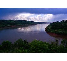 Iguazu River Photographic Print
