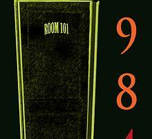 Room 101 in Black by KayeDreamsART