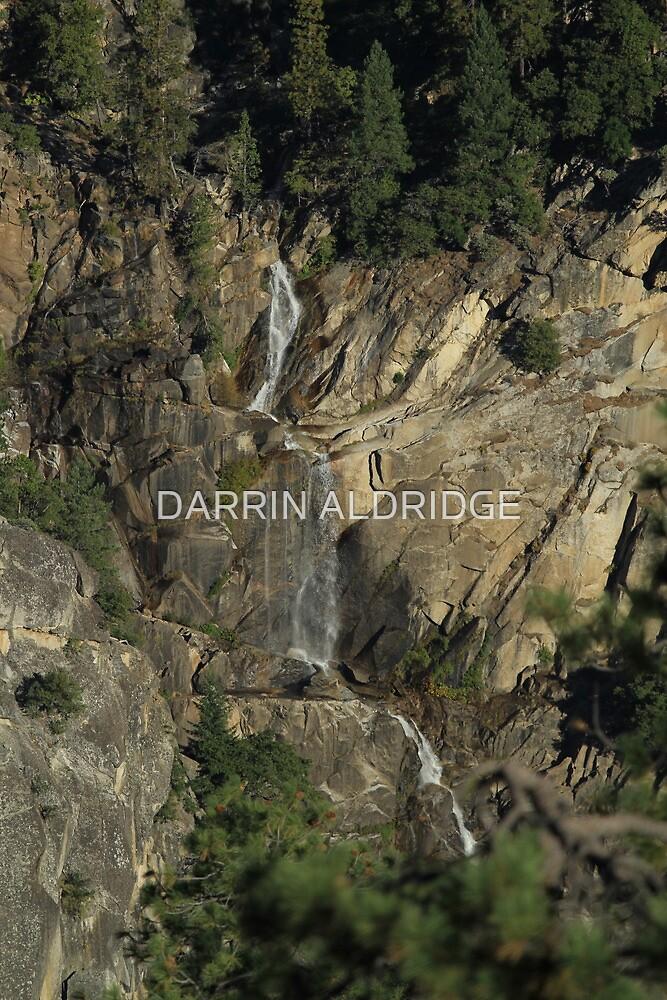 Yosemite Water Fall by DARRIN ALDRIDGE