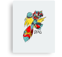 Zero (Megaman X) Canvas Print