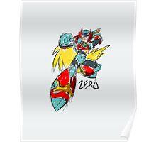 Zero (Megaman X) Poster