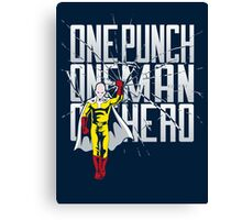 One Hero Canvas Print