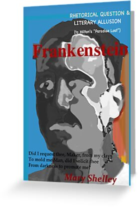Frankenstein: A Rhetorical Question by KayeDreamsART