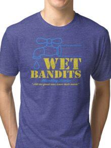 Wet Bandits Plumbing Tri-blend T-Shirt