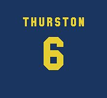Jonathan Thurston iPhone Cover by nweekly