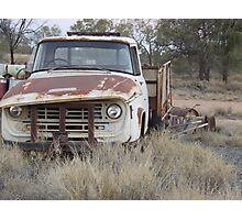 Rusty truck Photographic Print
