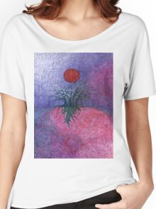 Space Tree Women's Relaxed Fit T-Shirt