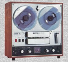 Vintage Analog tapedeck player by kustom