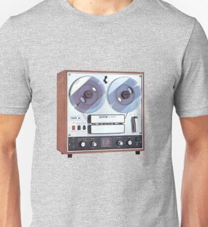 Vintage Analog tapedeck player Unisex T-Shirt