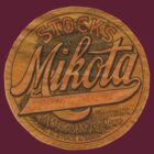 Vintage Mikota lettering add by kustom