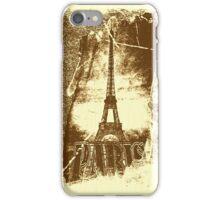 Vintage Paris Eiffel Tower 2 iPhone Case/Skin