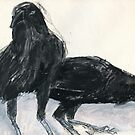 Australian Raven2 by WoolleyWorld