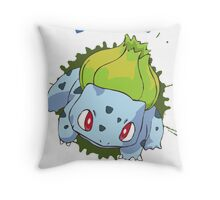 Team Bulbasaur - Pokemon X Y Throw Pillow