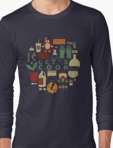 Breaking Bad - Let's Cook Long Sleeve T-Shirt