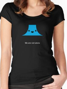 Cute Devil's Tower (Close Encounters of the Third Kind) Women's Fitted Scoop T-Shirt