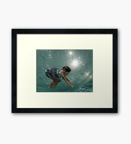 Life in a Bubble Framed Print