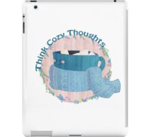 Cozy Thoughts iPad Case/Skin