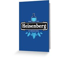 Heisenberg Blue Sky Crystal Greeting Card