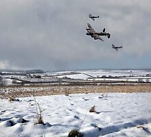 Battle of Britain Snow Scene by James Biggadike