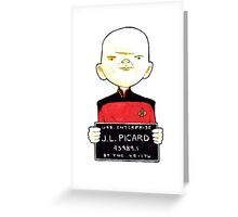 J-L. Picard, Lineup  Greeting Card