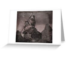 Robot Tank World War 1.5 Greeting Card