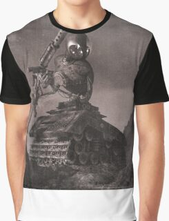 Robot Tank World War 1.5 Graphic T-Shirt