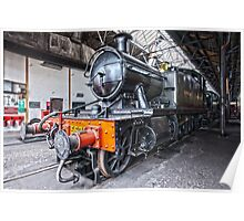 Steam Locomotive HDR Poster