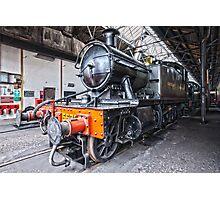 Steam Locomotive HDR Photographic Print