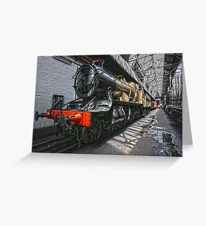 Steam Locomotive HDR II Greeting Card