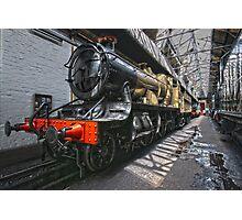 Steam Locomotive HDR II Photographic Print