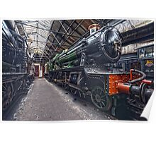 Steam Locomotive HDR III Poster