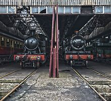 Steam Locomotive HDR IV by Simon Lawrence