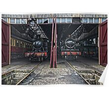 Steam Locomotive HDR IV Poster