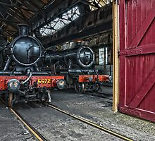 Steam Locomotive HDR V by Simon Lawrence